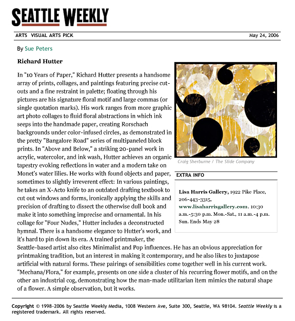 Seattle Weekly Review